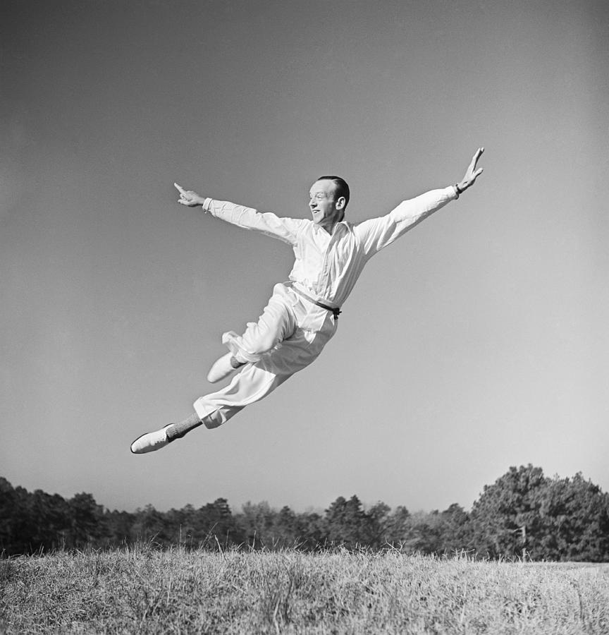 Fred Astaire Photo Session Photograph by Michael Ochs Archives