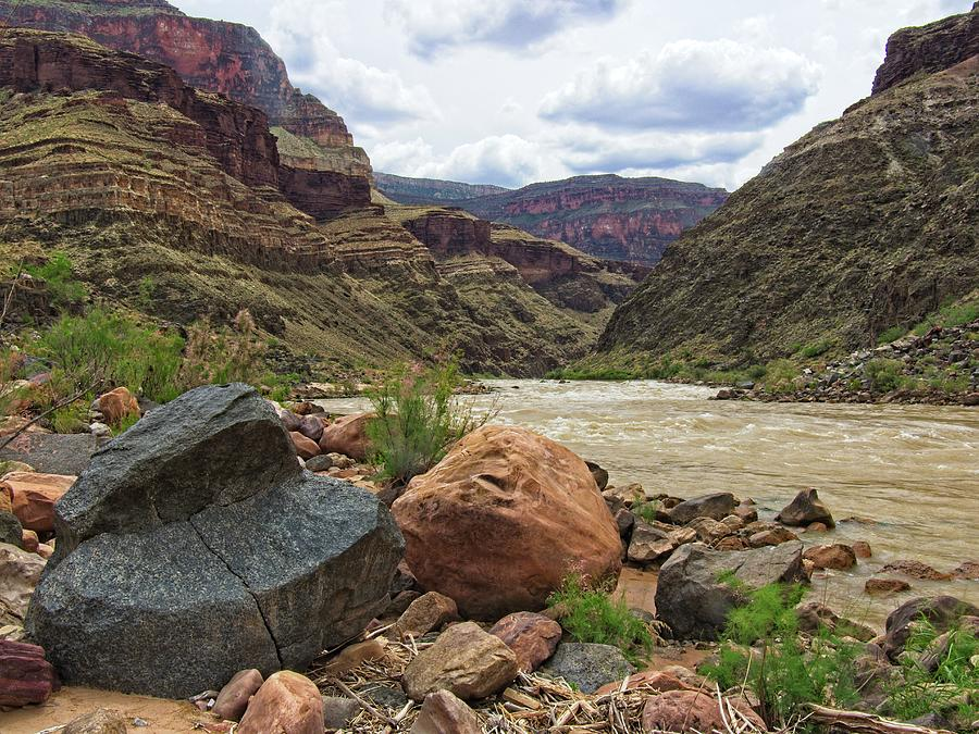 Grand Canyon From The River by Walt Sterneman