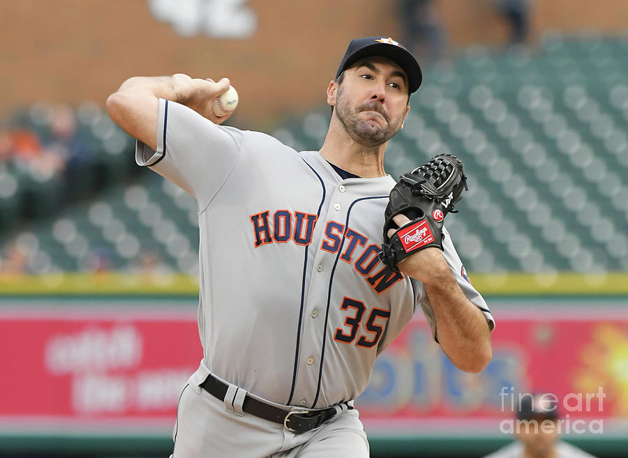 Houston Astros V Detroit Tigers Photograph by Mark Cunningham