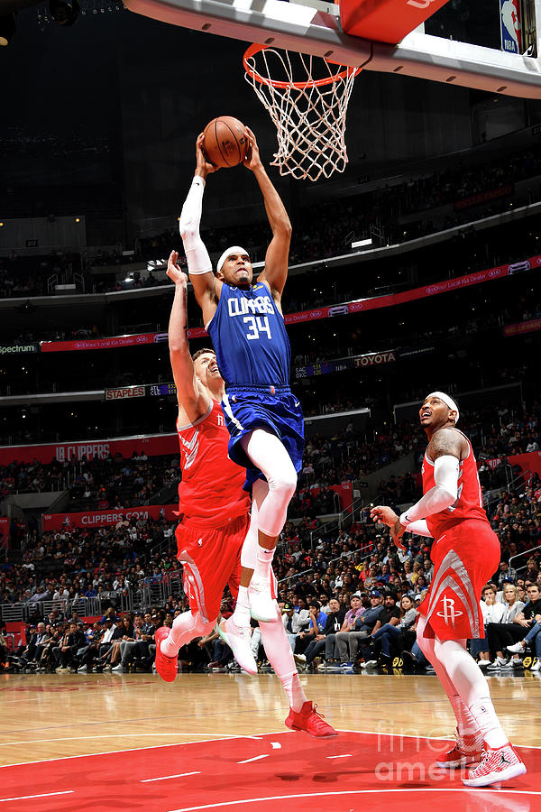 Houston Rockets V La Clippers 6 Photograph by Andrew D. Bernstein