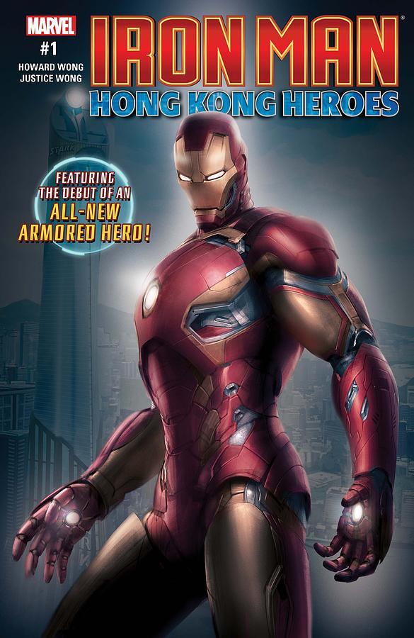 Iron Man Digital Art - Iron Man by Geek N Rock
