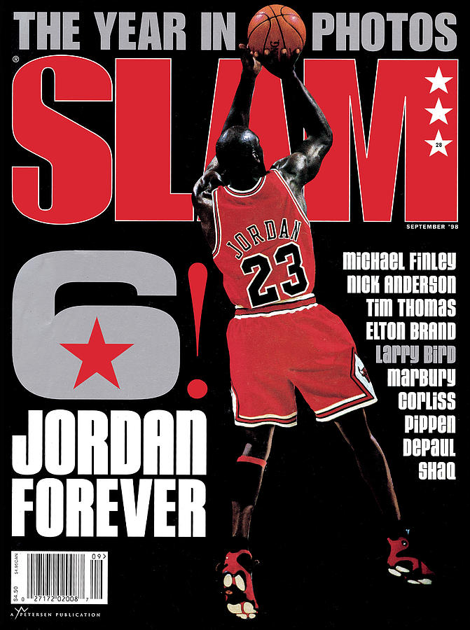 6! Jordan Forever SLAM Cover Photograph by Getty Images