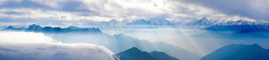 Landscapes In China Photograph by 4x-image