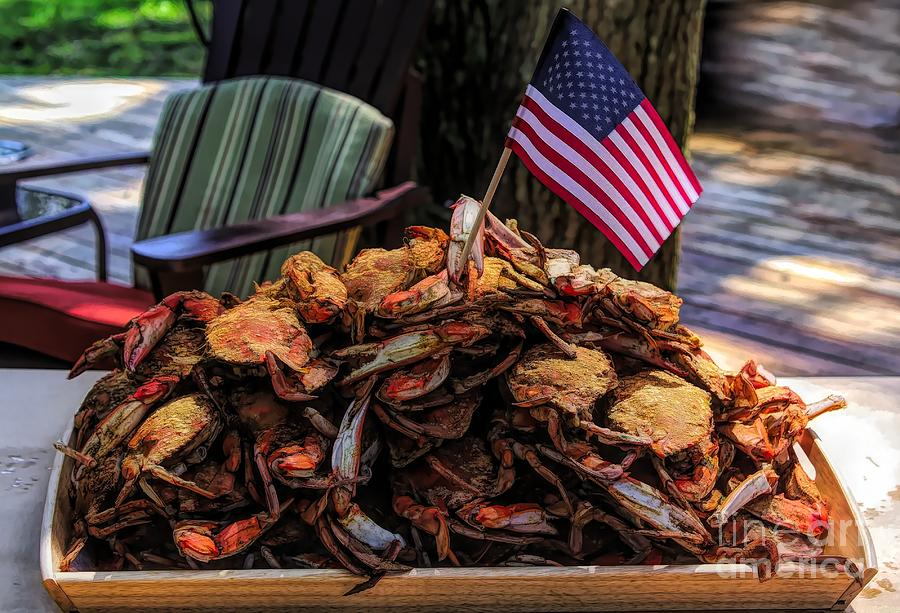 Maryland Steamed Crabs by Paulette Thomas