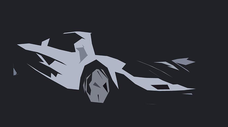 Mclaren F1 Abstract Design Digital Art By Carstoon Concept