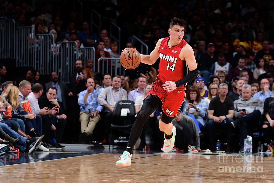 Miami Heat V Denver Nuggets Photograph by Bart Young