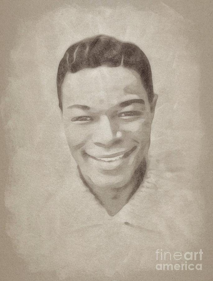 Nat King Cole, Music Legend Drawing
