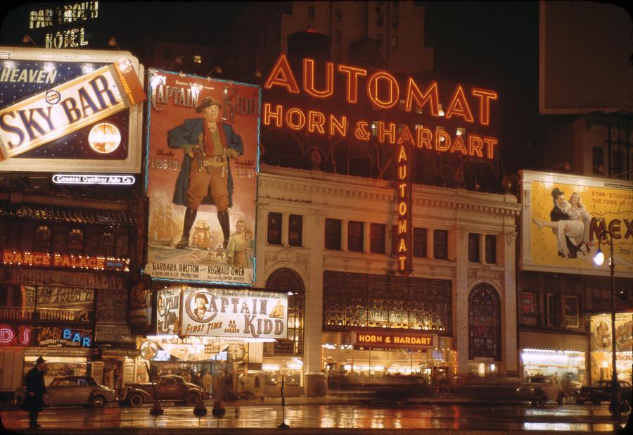 New York Photograph by Andreas Feininger