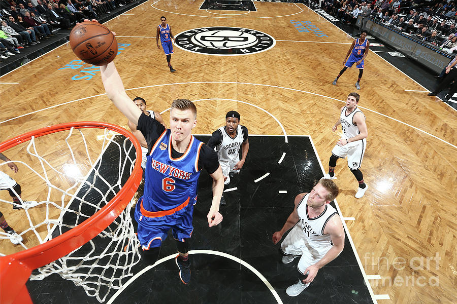 New York Knicks V Brooklyn Nets Photograph by Nathaniel S. Butler
