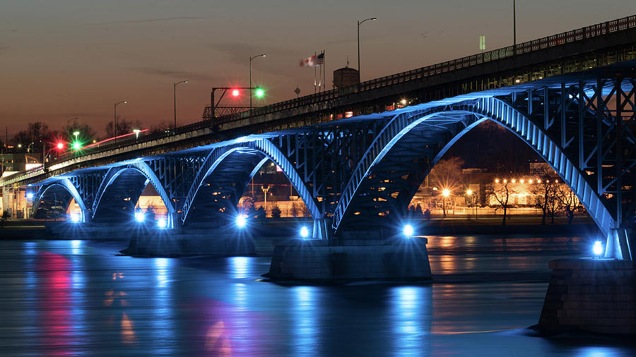 Peace Bridge Photograph - Peace Bridge by Dave Niedbala