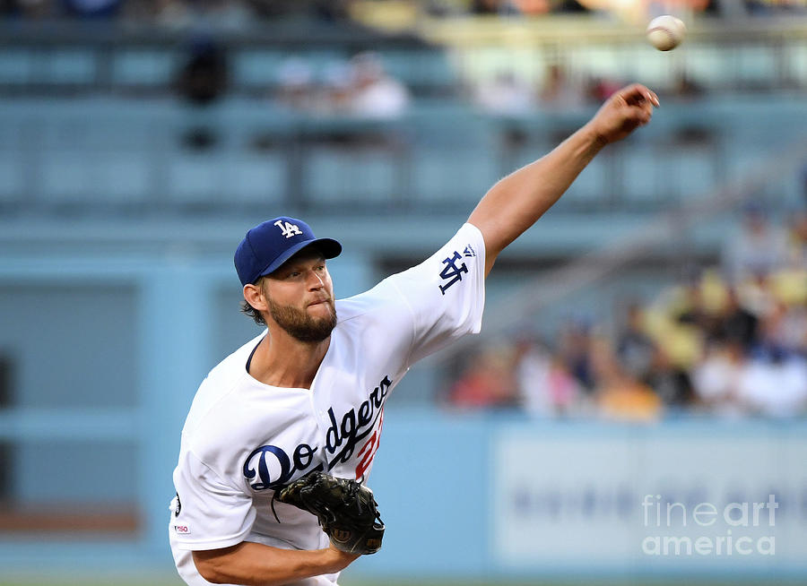 San Diego Padres V Los Angeles Dodgers Photograph by Harry How