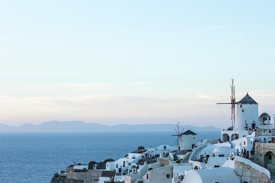 Santorini, Greece Photograph by Neil Emmerson
