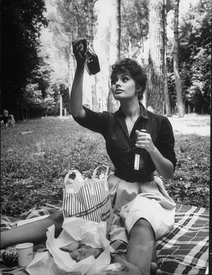 Sophia Loren 6 Photograph by Alfred Eisenstaedt