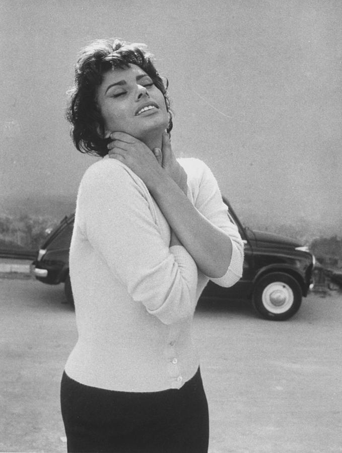 Sophia Loren Photograph by Loomis Dean