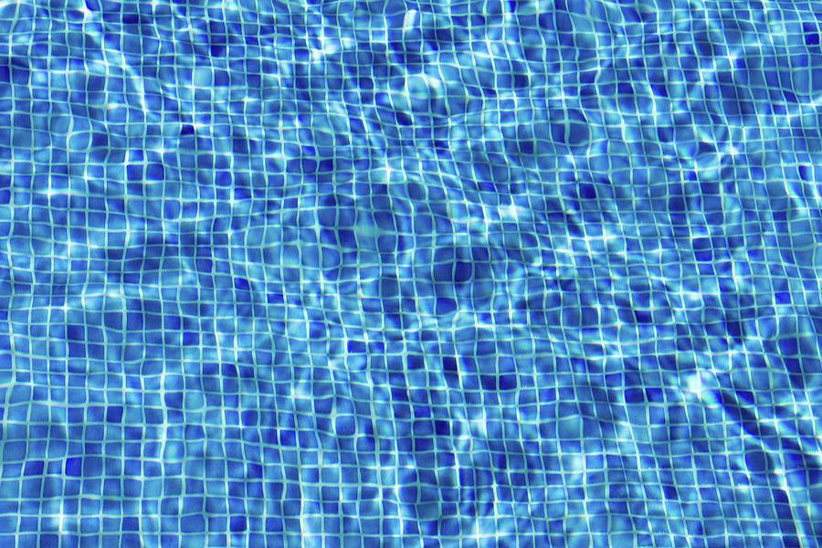 Blue Tiled Swimming Pool