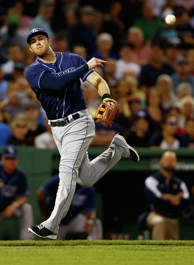 Tampa Bay Rays V Boston Red Sox 6 Photograph by Jared Wickerham