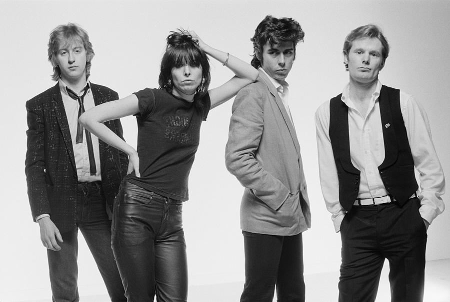 The Pretenders 6 Photograph by Fin Costello