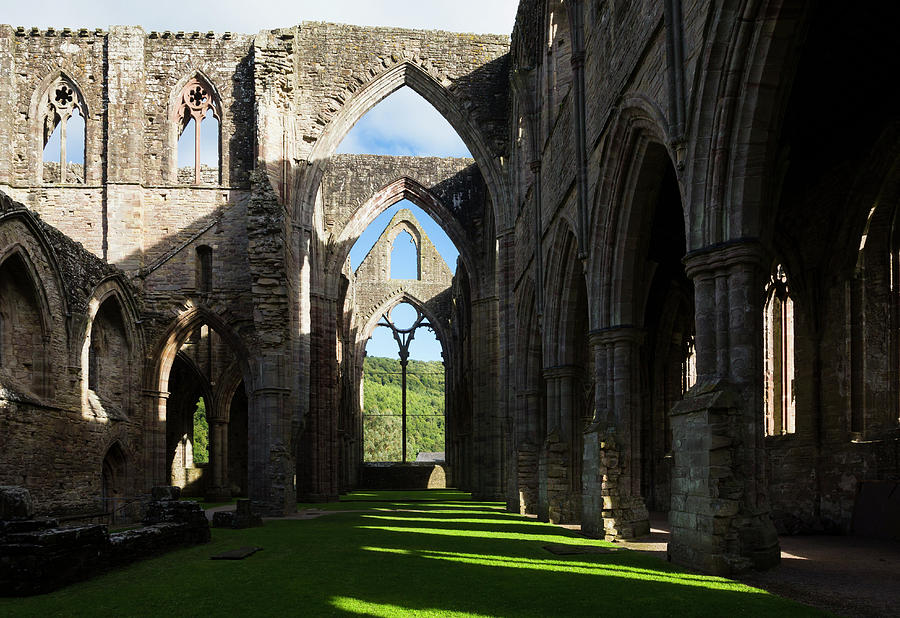 Spirituality Photograph - Tintern Abbey, Wales, United Kingdom by Ken Welsh