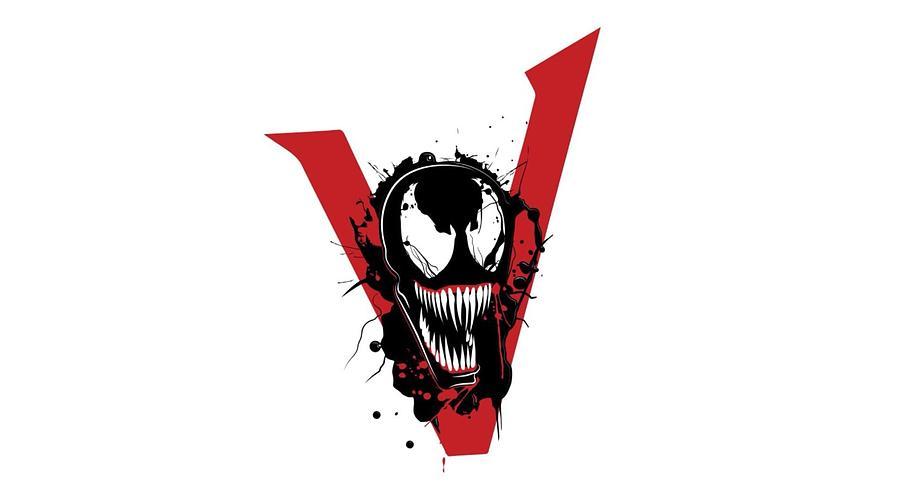Venom Digital Art - Venom  6 by Geek N Rock