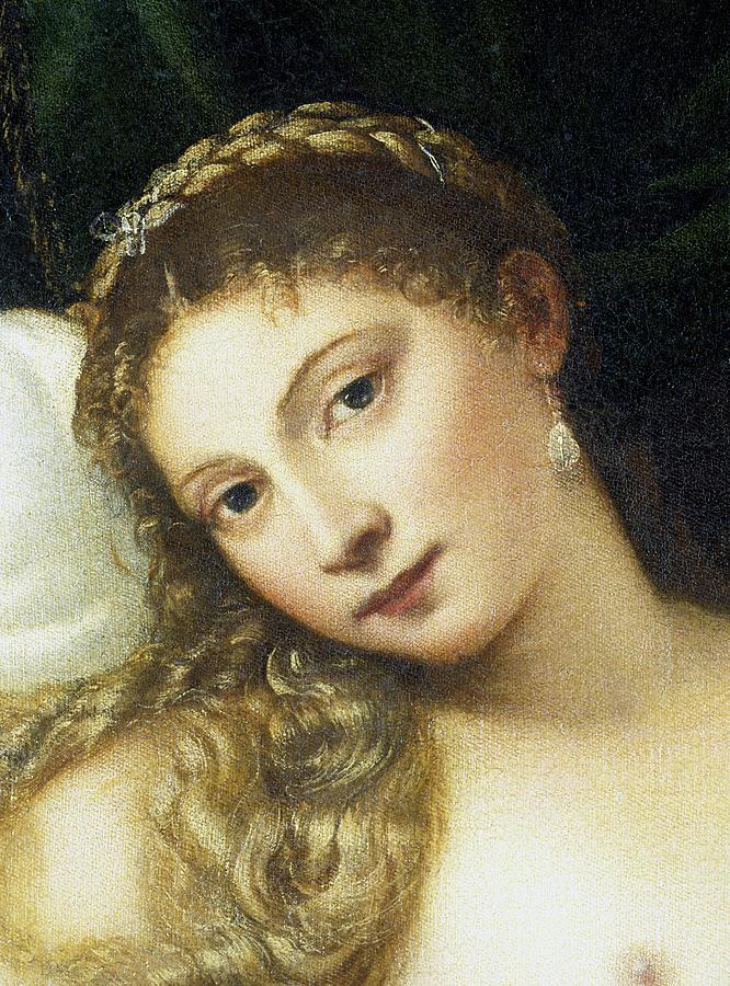 Titian Painting - Venus Of Urbino by Titian