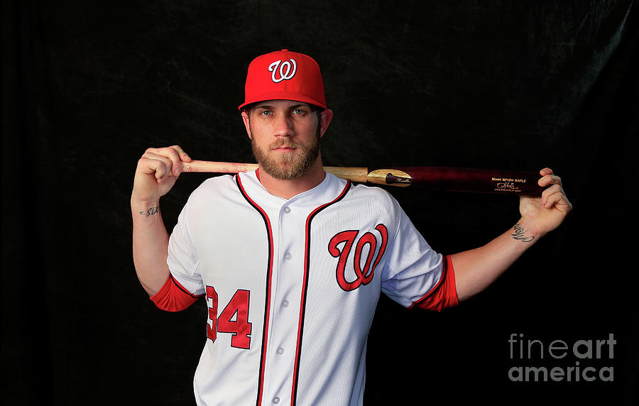 Washington Nationals Photo Day Photograph by Rob Carr
