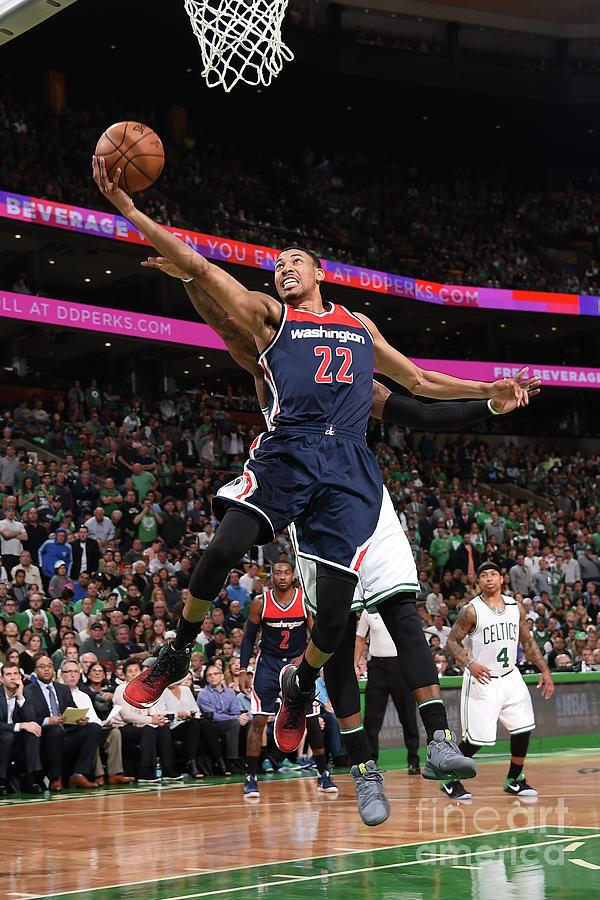 Washington Wizards V Boston Celtics - Photograph by Brian Babineau