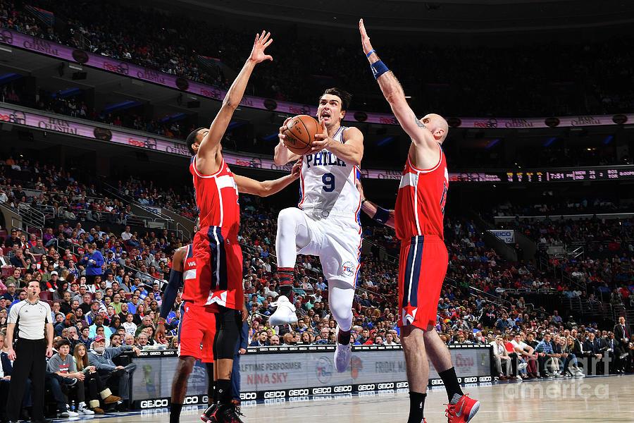 Washington Wizards V Philadelphia 76ers Photograph by Jesse D. Garrabrant