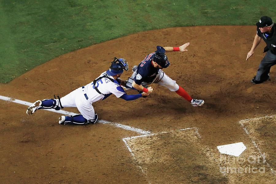 World Series - Boston Red Sox V Los 6 Photograph by Sean M. Haffey