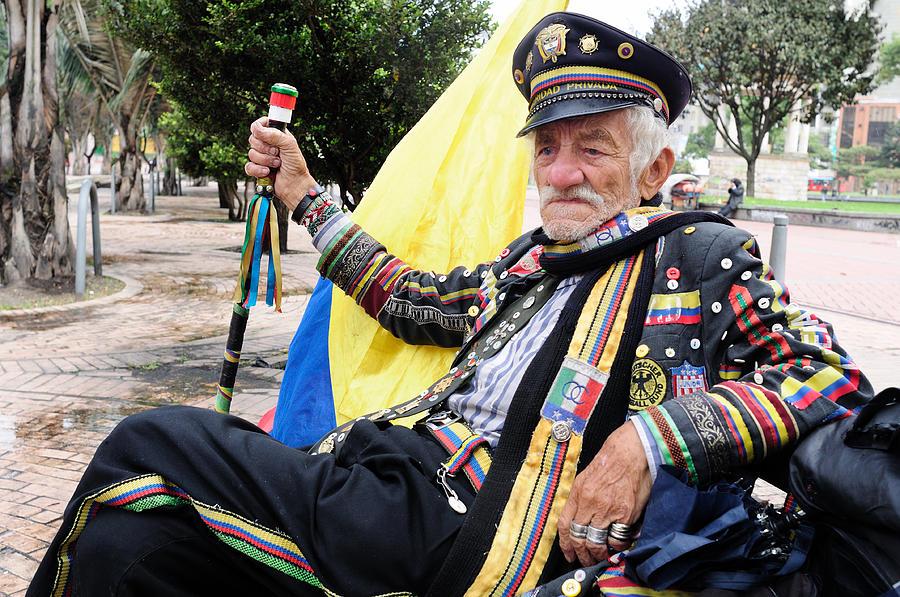 Bogota - La Candelaria Photograph