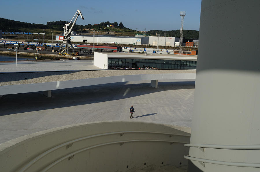 Niemeyer Center - Spain Photograph