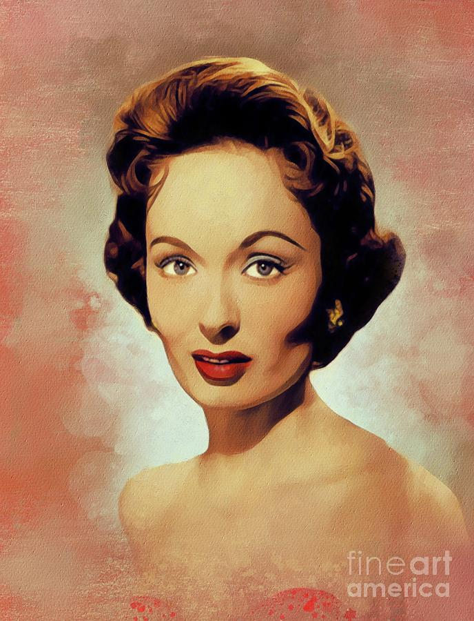 Ann Painting - Ann Blyth, Vintage Actress by Esoterica Art Agency