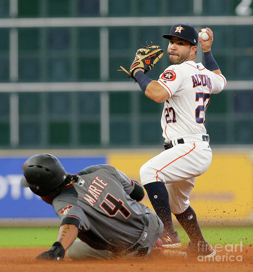 Arizona Diamondbacks V Houston Astros Photograph by Bob Levey
