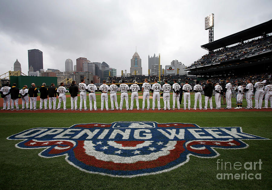 Atlanta Braves V Pittsburgh Pirates Photograph by Justin K. Aller