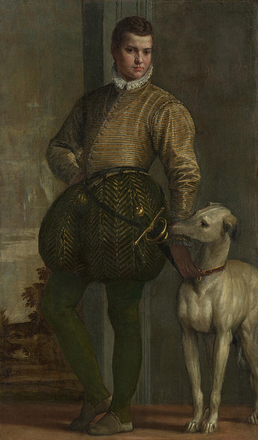 Boy with a Greyhound by Paolo Veronese