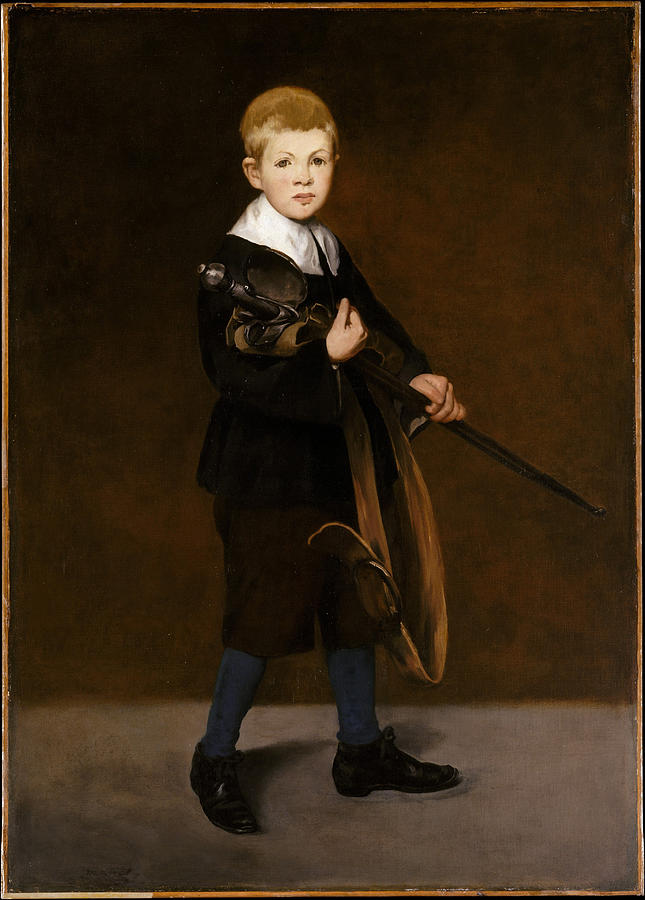 Edouard Manet Painting - Boy With A Sword  by Edouard Manet