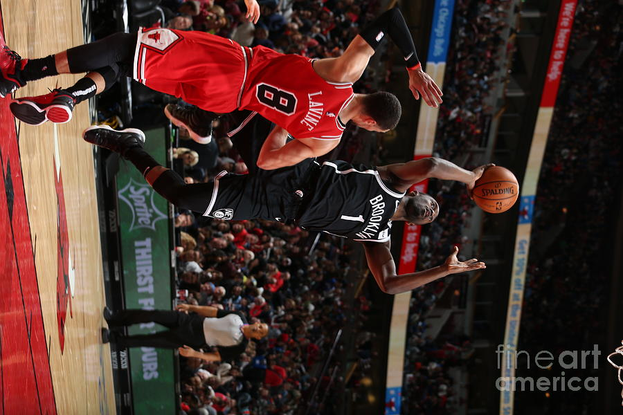 Brooklyn Nets V Chicago Bulls Photograph by Gary Dineen