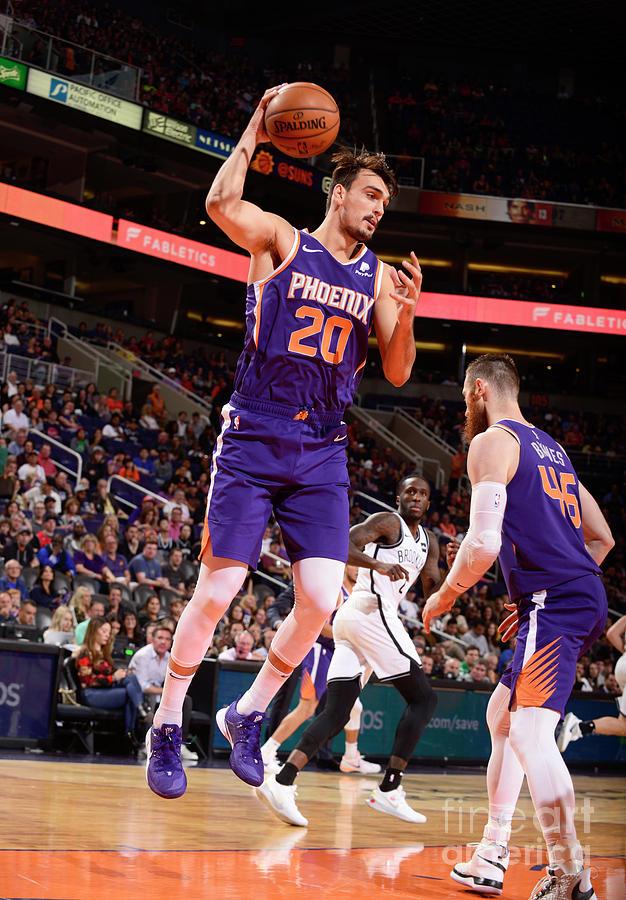 Brooklyn Nets V Phoenix Suns Photograph by Barry Gossage