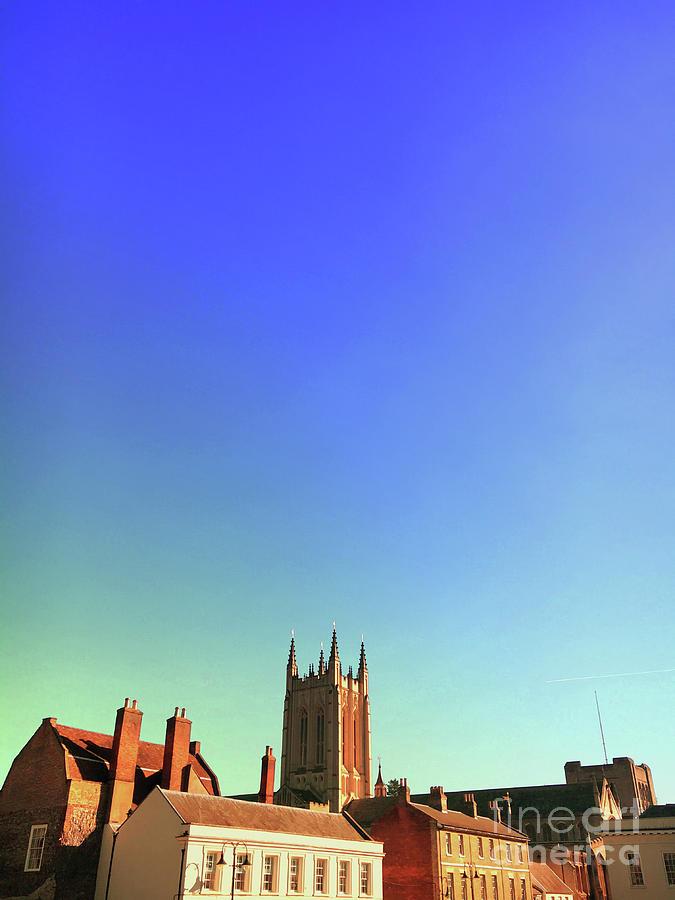 Abbey Photograph - Bury St Edmunds Buildings  by Tom Gowanlock