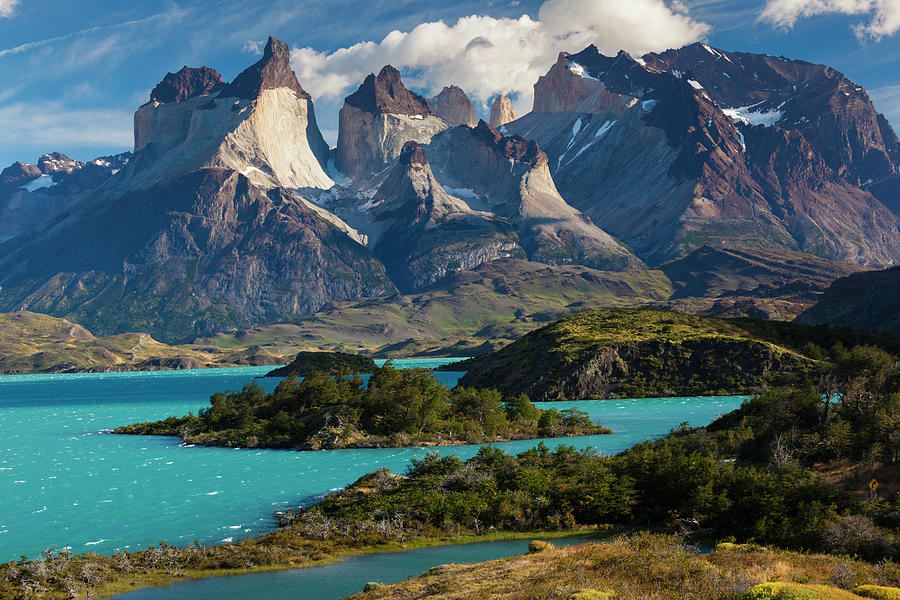 Chile, Torres Del Paine National Park Photograph by Walter Bibikow