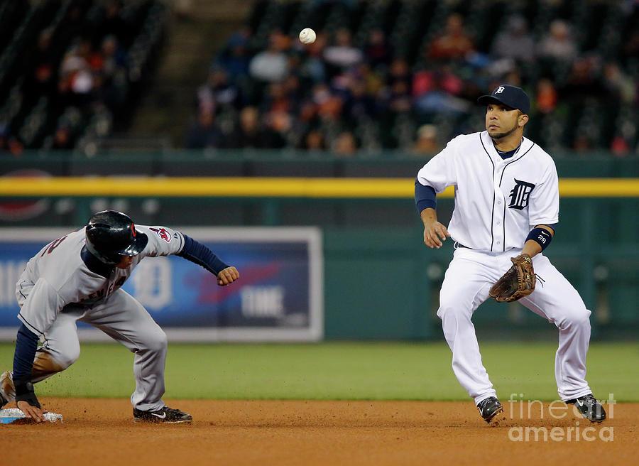Cleveland Indians V Detroit Tigers Photograph by Duane Burleson