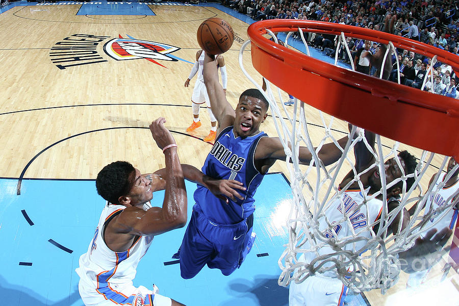 Dallas Mavericks V Oklahoma City Thunder Photograph by Layne Murdoch