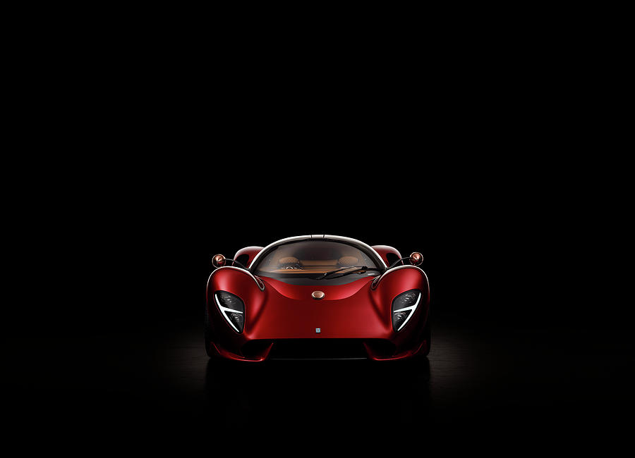 De Tomaso P72 by George Williams