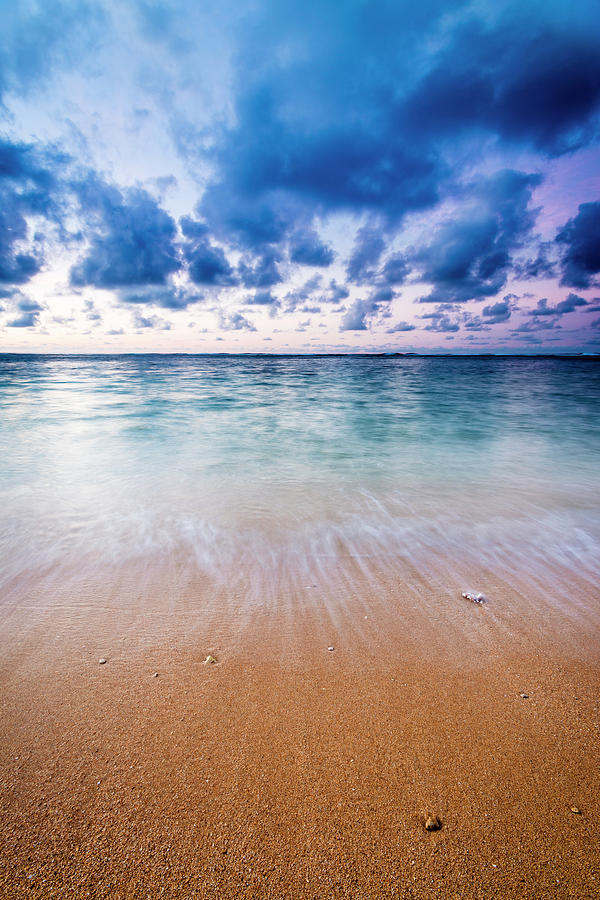 Beach Photograph - Evening Light Over The Pacific 7 by Russ Bishop