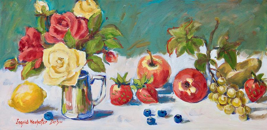 Floral Still Life by Ingrid Dohm