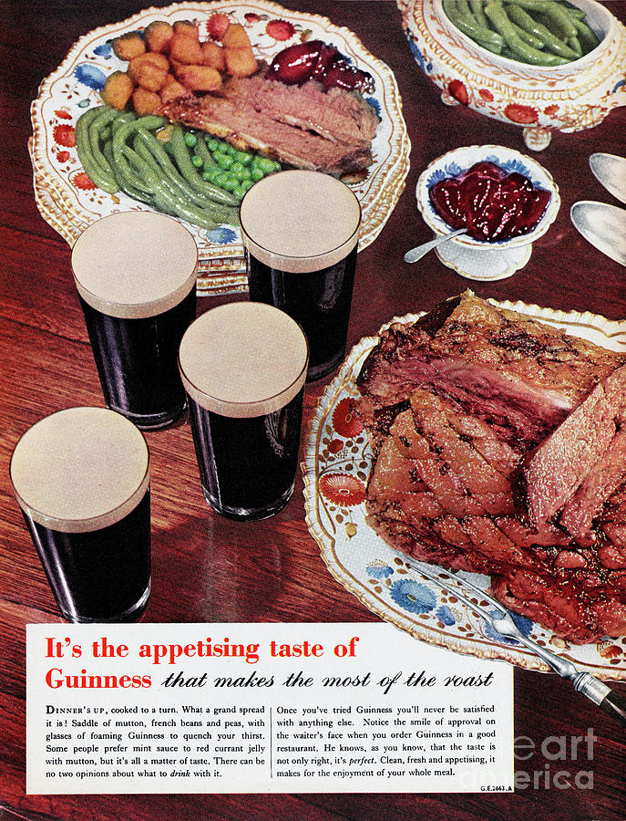 Guinness Photograph by Picture Post
