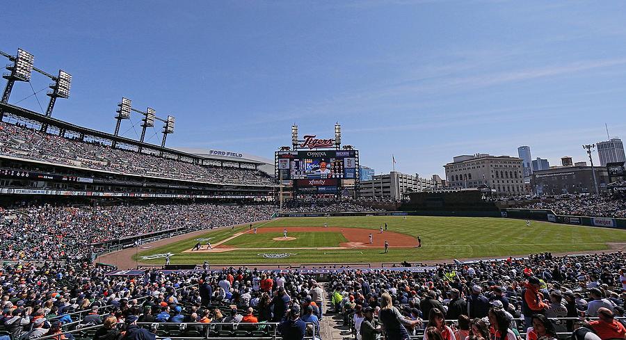Kansas City Royals V Detroit Tigers 7 Photograph by Leon Halip
