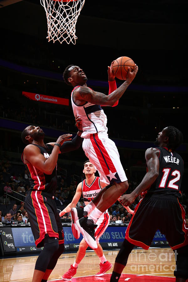 Miami Heat V Washington Wizards Photograph by Ned Dishman