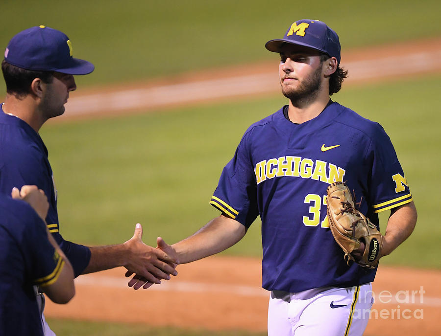 Michigan V Ucla - Game One Photograph by Jayne Kamin-oncea