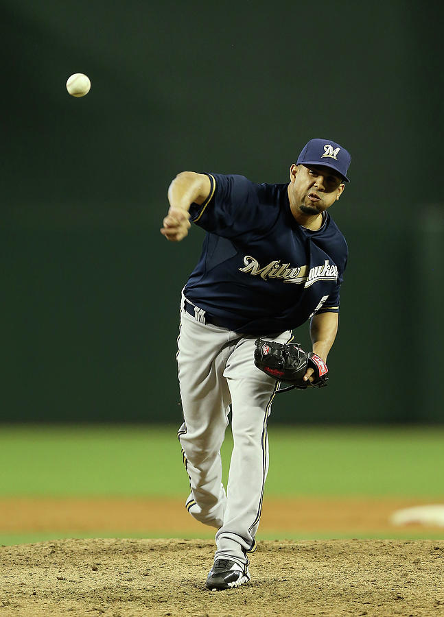 Milwaukee Brewers V Arizona Diamondbacks Photograph by Christian Petersen
