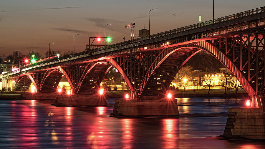 Peace Bridge Photograph - Peace Bridge by Dave Niedbala